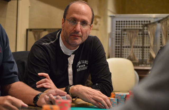 Scott Matte just flopped a set of queens to down Connor Berkowitz's flopped set of nines, in what looked to be the biggest pot of the tournament.